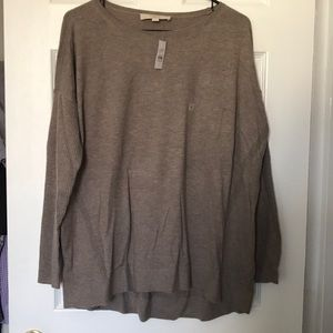 NWT Slouchy Tan LOFT Sweater